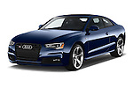 2017 Audi S5-Coupe 3.0T-quattro-manual 2 Door Coupe Angular Front stock photos of front three quarter view