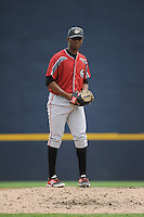 Altoona Curve pitcher Joely Rodriguez (14) during game against the Trenton Thunder at ARM & HAMMER Park on August 6, 2014 in Trenton, NJ.  Trenton defeated Altoona 7-3.  (Tomasso DeRosa/Four Seam Images)