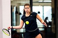 Amstelveen, Netherlands, 14  December, 2020, National Tennis Center, NTC, NK Indoor, National  Indoor Tennis Championships, Qualifying:   Bo Luttikhuis (NED) <br /> Photo: Henk Koster/tennisimages.com