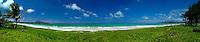 Panoramic view of Kalama beach   Kailua.