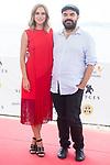 Actress Aura Garrido and director Xavier Gens during photocall of 'La Piel Fria' at Sitges Film Festival in Barcelona, Spain October 11, 2017. (ALTERPHOTOS/Borja B.Hojas)