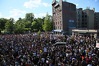 Third day of Protests against police brutality over George Floyd's death in New York