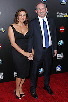 HOLLYWOOD, LOS ANGELES, CA, USA - MARCH 20: Amy Povich, Dr. David Agus at the 2nd Annual Rebels With A Cause Gala Honoring Larry Ellison held at Paramount Studios on March 20, 2014 in Hollywood, Los Angeles, California, United States. (Photo by Xavier Collin/Celebrity Monitor)