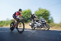 Cadel Evans (AUS)<br /> <br /> Tour de France 2013<br /> stage 11: iTT Avranches - Mont Saint-Michel <br /> 33km