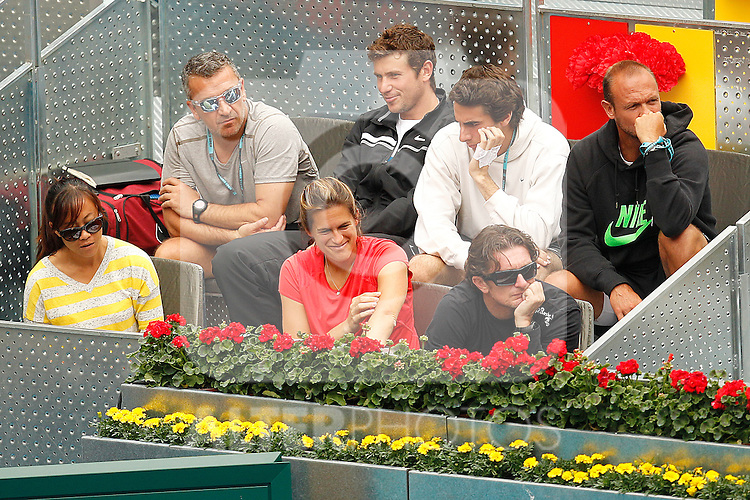 Amelie Mauresmo during Mutua Madrid Open 2012 match on may 8th 2012...Photo: Cesar Cebolla / ALFAQUI