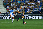 Leganes' Nabil El Zhar Real Sociedad's Igor Zubeldia during La Liga match. August 24, 2018. (ALTERPHOTOS/A. Perez Meca)
