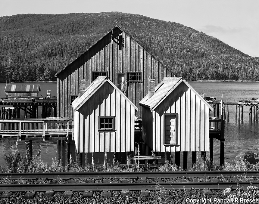 """""""Historic North Pacific Cannery""""<br /> Port Edward, British Columbia, Canada <br /> <br /> The North Pacific Canning Company was formed in 1888 on the Skeena River where it operated for nearly 90 years. The cannery has been designated a National Historic Site and provides a good glimpse of the early salmon fishing and canning operations in British Columbia."""