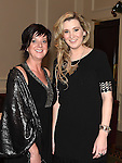 Miriam Watters and Hayley Mayers pictured at the Ardee Traders Awards night in the Nuremore hotel Carrickmacross. Photo:Colin Bell/pressphotos.ie