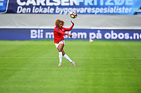 Sandefjord, Norway - June 11, 2017: Lynn Williams warms up prior to their game  vs Norway in an international friendly at Komplett Arena.