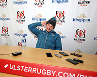 Monday 28th October 2019 | Ulster Rugby Match Briefing<br /> <br /> Luke Marshall at the Match Briefing ahead of Ulster's PRO14 Round 5 clash against Zebre at Kingspan Stadium, Ravenhill Park, Belfast, Northern Ireland. Photo by John Dickson / DICKSONDIGITAL