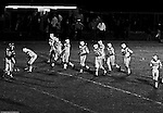 Bethel Park PA:  Offensive line was one of the biggest in the conference averaging 225lbs.  Joe Barrett 75 (RT), Dennis Franks 66 (RG), Don Troup 51 (C), Glenn Eisaman 71 (LG), Jim Dingeldine 73 (LT), Gary Biro 81 (TE), Bruce Evanovich 80 (SE), Mike Stewart 11(QB), Clark Miller 30 (FB), Mike 83(HB). After Scott Streiner was injuried on the first play, the team rallied but came up just short of winning the game when they missed a two-point conversion late in the 4th quarter (7-6).