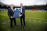 Malky Mackay and Stewart Regan at Hampden today for the appointment of a new SFA Performance Director