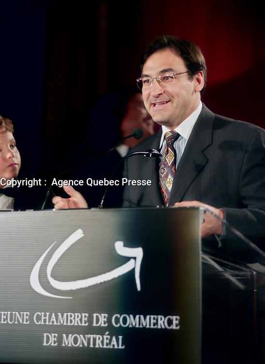 May 28 1998 - Martin Cauchon speak at ARISTA gala