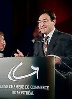 May 28 1998 - Martin Cauchon speak at ARISTA gala