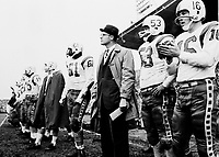 Frank Clair Ottawa Rough Riders head coach 1960. Copyright photograph Ted Grant