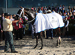March 28, 2015 International Star, ridden by Miguel Mena, wins the G2 Louisiana Derby over Stanford (Florent Geroux).  Owner Ken and Sarah Ramsey, trainer Michael J. Maker. ©Mary M. Meek/ESW/CSM