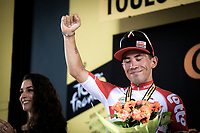 stage winner Caleb Ewan (AUS/Lotto Soudal) <br /> <br /> Stage 11: Albi to Toulouse (167km)<br /> 106th Tour de France 2019 (2.UWT)<br /> <br /> ©kramon