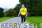 Mary T Moynihan Killarney who is walking 99km for Canines in aid of Dogs Trust charity
