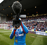 Barrie McKay with video camera