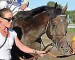 8.7.10 Blame after winning the Whitney with assistant trainer Randi Melton