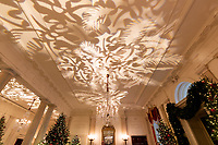 The Grand Foyer of the White House is decorated for the holiday season Monday, Nov. 26, 2018. (Official White House Photo by Andrea Hanks)
