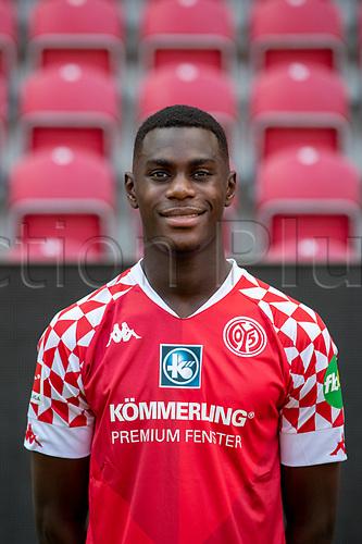 16th August 2020, Rheinland-Pfalz - Mainz, Germany: Official media day for FSC Mainz players and staff; Moussa Niakhate FSV Mainz 05