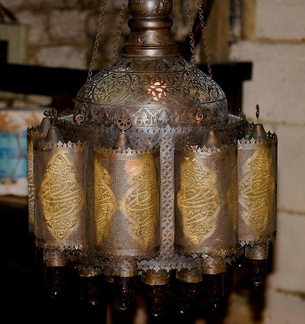 Lamp, 404 Restaurant, Paris, France, Europe