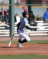 Steven Ondina takes part in the 2019 Under Armour Pre-Season All-America Tournament at the Chicago Cubs and Oakland Athletics training complexes on January 19-20, 2019 in Mesa, Arizona (Bill Mitchell)