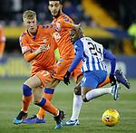 09.02.2019: Kilmarnock v Rangers : Ross McCrorie and Youssouf Mulumbu