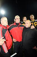 Defensive Coaches: Walter Rohlfing, Norbert Pitzner<br /> Länderspiel Deutschland vs. Schweden<br /> *** Local Caption *** Foto ist honorarpflichtig! zzgl. gesetzl. MwSt. Auf Anfrage in hoeherer Qualitaet/Aufloesung. Belegexemplar an: Marc Schueler, Am Ziegelfalltor 4, 64625 Bensheim, Tel. +49 (0) 151 11 65 49 88, www.gameday-mediaservices.de. Email: marc.schueler@gameday-mediaservices.de, Bankverbindung: Volksbank Bergstrasse, Kto.: 151297, BLZ: 50960101