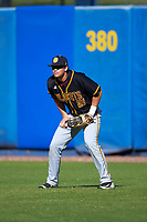 Bethune-Cookman Wildcats right fielder Nathan Bond (21) during a game against the Wisconsin-Milwaukee Panthers on February 26, 2016 at Chain of Lakes Stadium in Winter Haven, Florida.  Wisconsin-Milwaukee defeated Bethune-Cookman 11-0.  (Mike Janes/Four Seam Images)