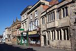 Great Britain, England, Somerset, Glastonbury: The High Street and Tribunal