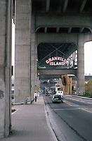 Vancouver: Granville Island.  Photo '86.