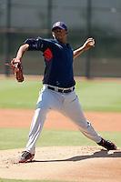 Kelvin De La Cruz - Cleveland Indians 2009 Instructional League.Photo by:  Bill Mitchell/Four Seam Images..