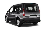 Car pictures of rear three quarter view of 2019 Ford Tourneo-Connect Trend 5 Door Mini Mpv Angular Rear