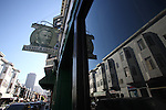 A view of a store and reflected images on a San Francisco street in the Italian neighborhood, November 13, 2008. Photo by Heriberto Rodriguez