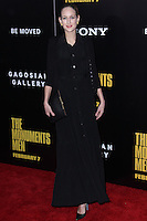 """NEW YORK, NY - FEBRUARY 04: Leelee Sobieski at the New York Premiere Of Columbia Pictures' """"The Monuments Men"""" held at Ziegfeld Theater on February 4, 2014 in New York City, New York. (Photo by Jeffery Duran/Celebrity Monitor)"""
