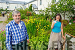 Peter Colleran and Philomena O'Dea help out in the allotment in Moyderwell, catering for their own allotment as well as for people who cant attend to their own at the moment.