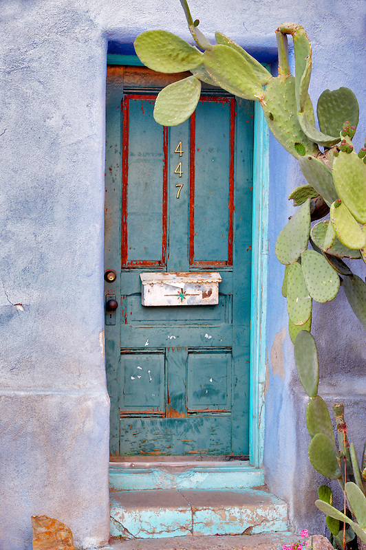 Old door. Tucson. Arizona
