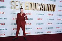 "Connor Swindells<br /> arriving for the ""Sex Education"" season 2 launch at Genesis Cinema Mile End Road, London.<br /> <br /> ©Ash Knotek  D3547 08/01/2020"