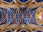 December 1, 2016; Ceiling of the Basilica of the Sacred Heart. (Photo by Barbara Johnston/University of Notre Dame)