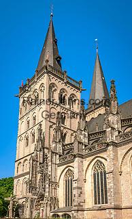 Deutschland, Nordrhein-Westfalen, Xanten: ehemalige Stiftskirche St. Viktor (Xantener Dom)   Germany, Northrhine-Westphalia, Xanten: Xanten cathedral