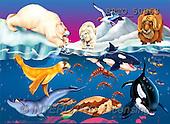 Alfredo, CUTE ANIMALS, puzzle, paintings(BRTO50963,#AC#) illustrations, pinturas, rompe cabeza
