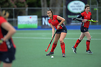 Action from the 2020 Lower North Island Girls Hockey Premiership match between Wairarapa College College and Feilding High School at Fitzherbert Park Twin Turfs in Palmerston North, New Zealand on Tuesday, 1 September 2020. Photo: Dave Lintott / lintottphoto.co.nz