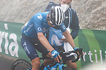 Miguel Angel Lopez Moreno (COL) Movistar Team wins Stage 18 of La Vuelta d'Espana 2021, running 162.6km from Salas to Alto del Gamoniteiru, Spain. 2nd September 2021.    <br /> Picture: Luis Angel Gomez/Photogomezsport   Cyclefile<br /> <br /> All photos usage must carry mandatory copyright credit (© Cyclefile   Luis Angel Gomez/Photogomezsport)