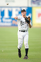 Birmingham Barons second baseman Chris Getz loosens up prior to taking on the Chattanooga Lookouts at Hoover Metropolitan Stadium in Birmingham, AL, Sunday, August 20, 2006.