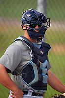 Tampa Bay Rays Chris Betts (26) during a minor league Spring Training intrasquad game on April 1, 2016 at Charlotte Sports Park in Port Charlotte, Florida.  (Mike Janes/Four Seam Images)