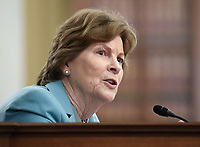 United States Senator Jeanne Shaheen speaks at the US Senate Small Business and Entrepreneurship Hearings to examine implementation of Title I of the CARES Act on Capitol Hill in Washington, DC on Wednesday, June 10, 2020.    <br /> Credit: Kevin Dietsch / Pool via CNP/AdMedia