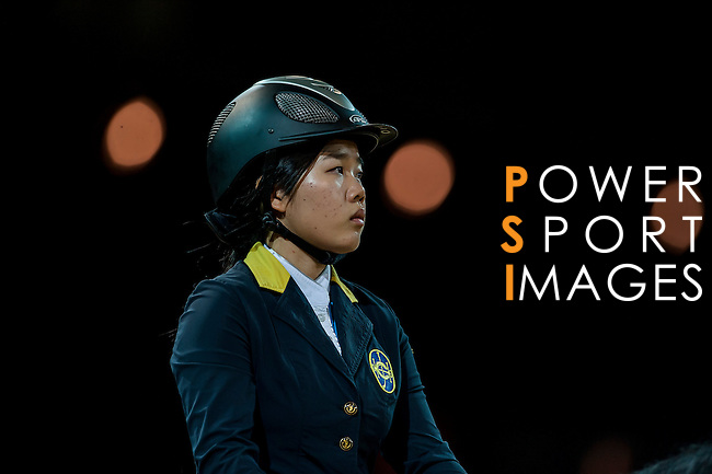 Riders Compete at the Gucci Gold Cup during the Longines Hong Kong Masters 2015 at the AsiaWorld Expo on 14 February 2015 in Hong Kong, China. Photo by Xaume Olleros / Power Sport Images