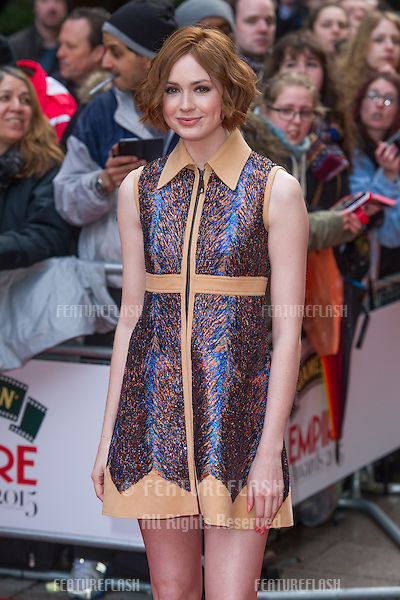 Karen Gillan arrives for the Empire Awards 2015 at the Grosvenor House Hotel, London. 29/03/2015 Picture by: Dave Norton / Featureflash